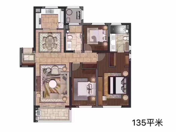 中储泛悦城市广场  3室2厅1厨2卫