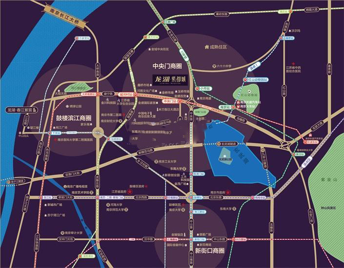 龙湖紫都城商业