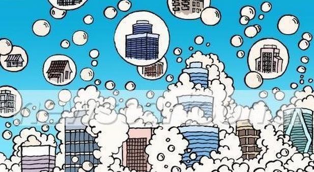 楼市泡沫是什么意思?