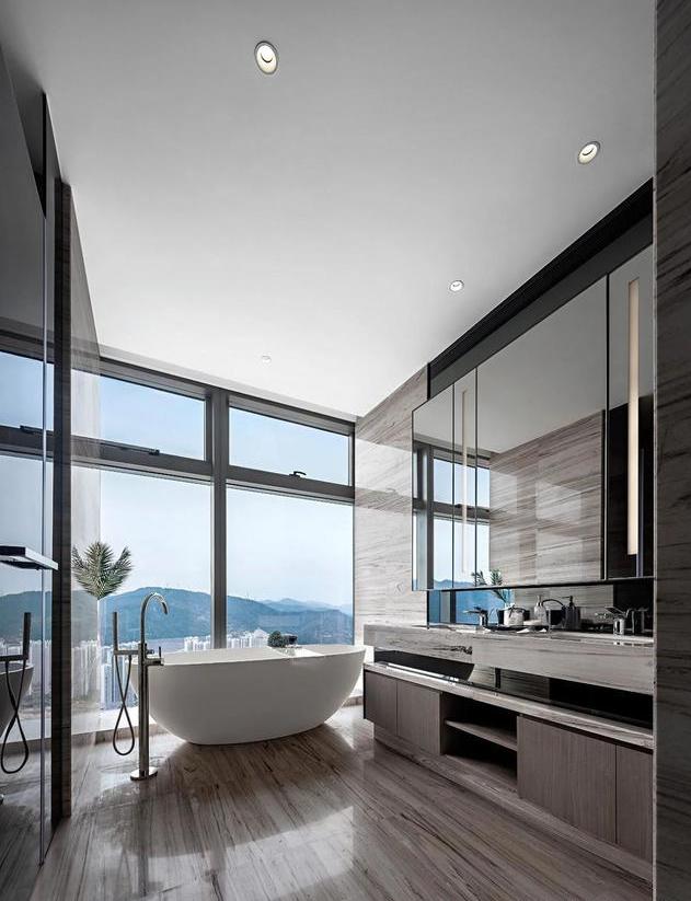 见过太多豪宅设计装修风格,难得见一个豪宅设计这么高级