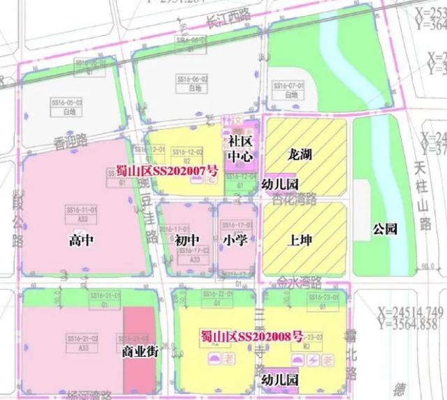 合肥11月27日土拍场次出炉,蜀山、新站4宗超417亩地要卖