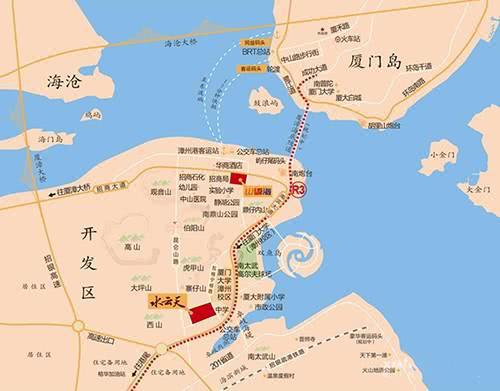 港尾南太武山铁路贯通,离R3线又进一步