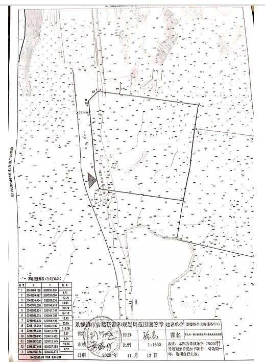 地块编号:DHA2020078红线图