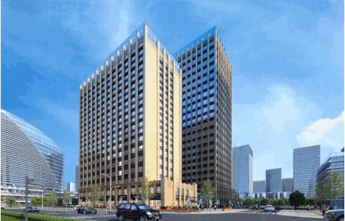 萍乡楼市新房环球国际商务中心楼盘效果图