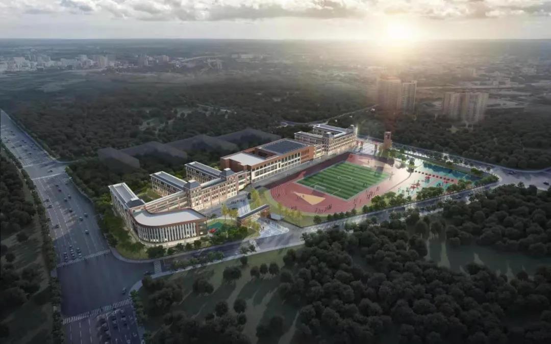 萍乡这座入秋将开学的新学校进展迅速