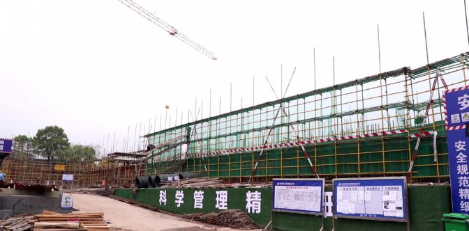 萍乡安源新城学校施工现场图