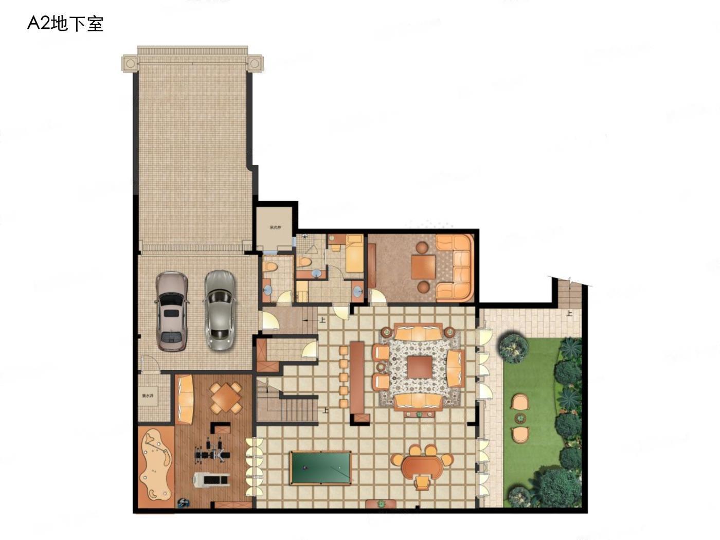 钟山国际高尔夫  4室3厅1厨4卫