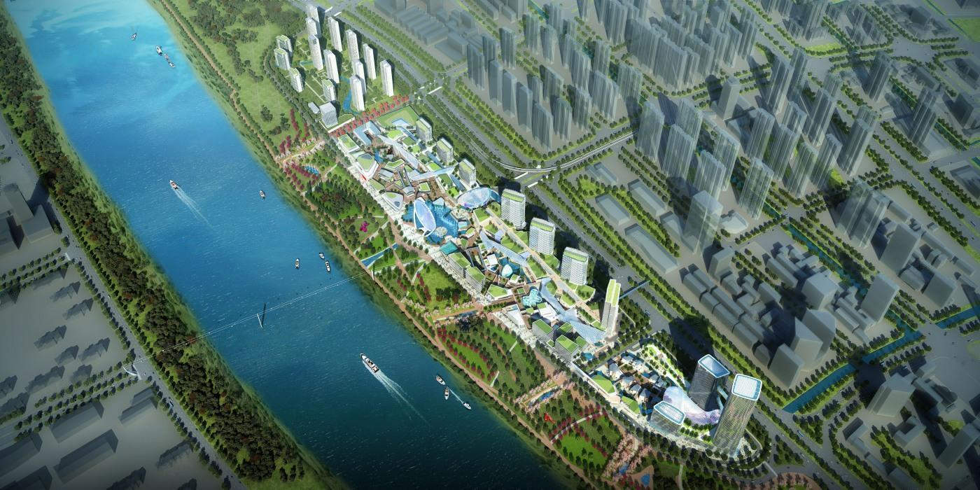 华侨城欢乐滨江