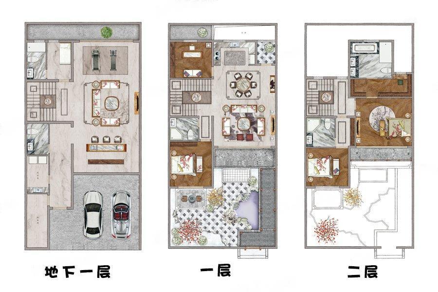 绿城桃花源  4室4厅1厨5卫