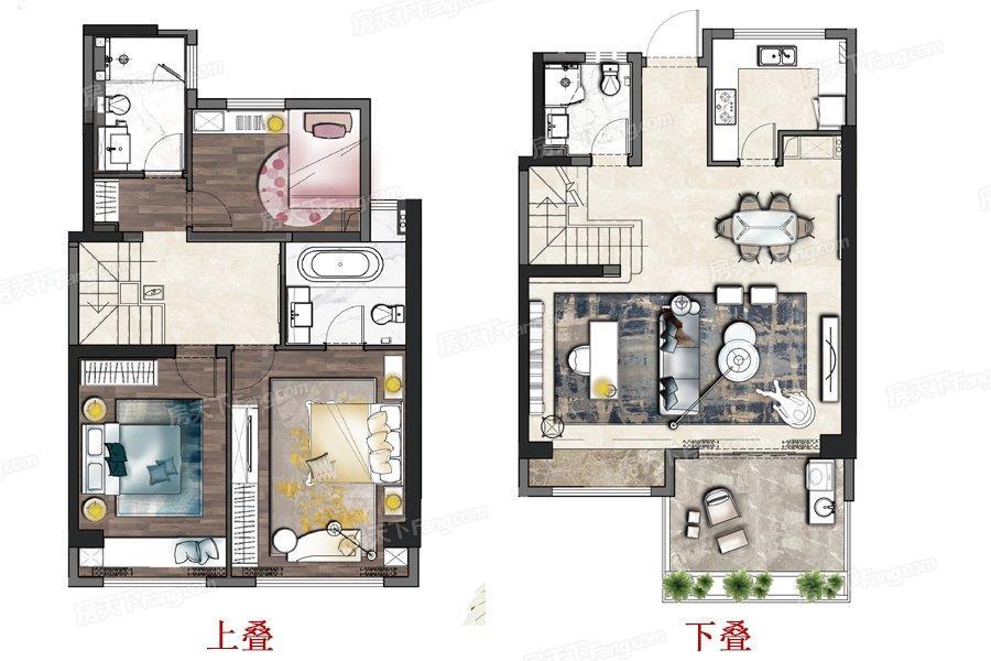 国瑞熙墅  3室2厅1厨3卫