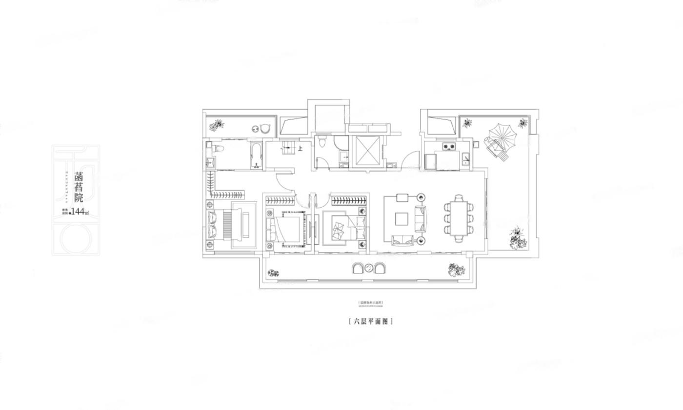 绿都蘇和雅集  3室2厅1厨2卫