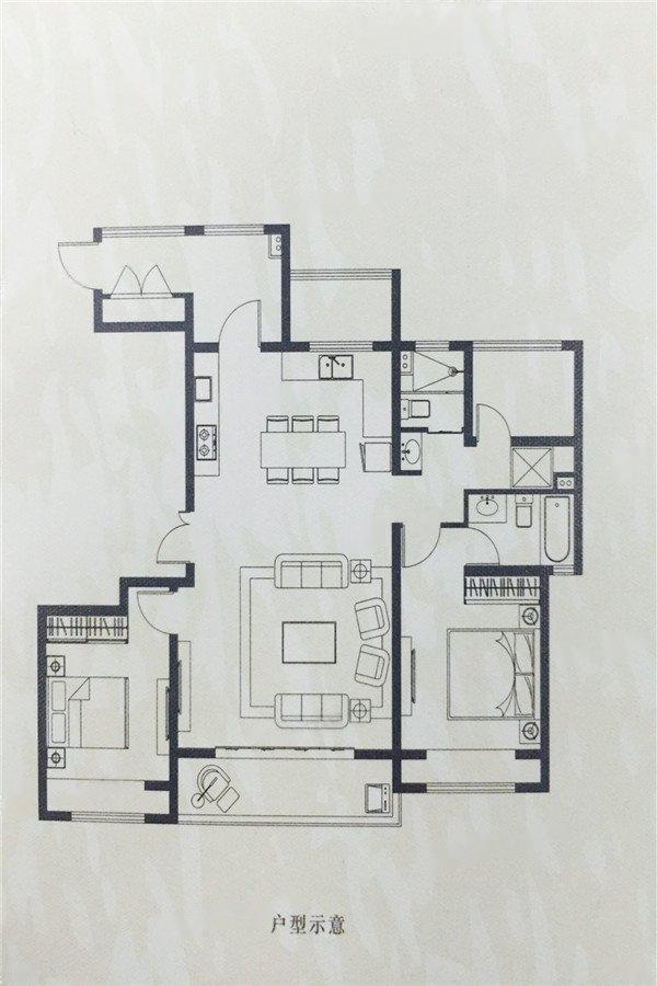 海胥澜庭  3室2厅1厨2卫