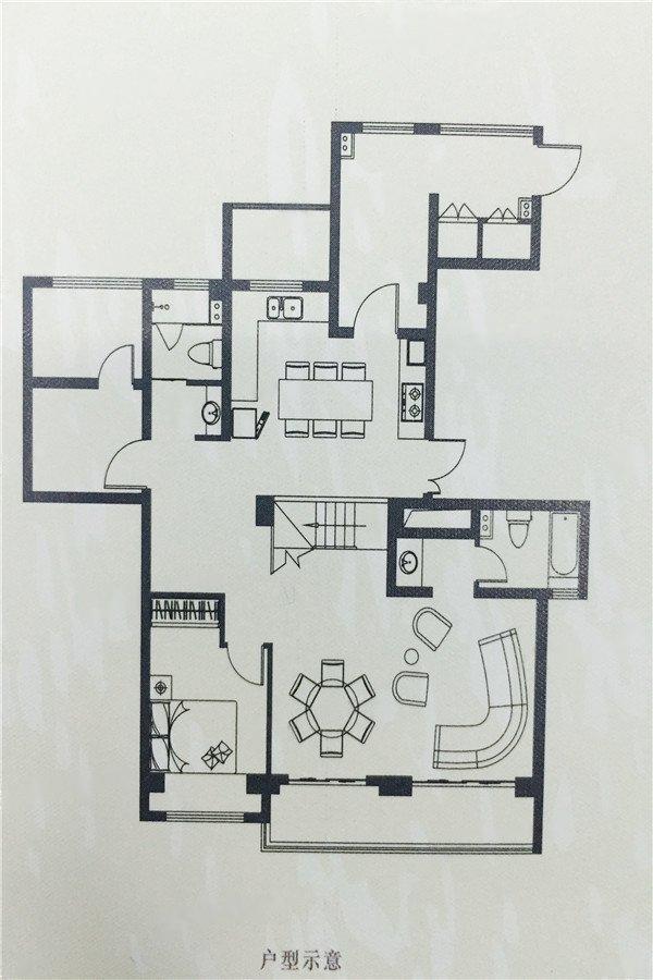 海胥澜庭  4室2厅1厨2卫