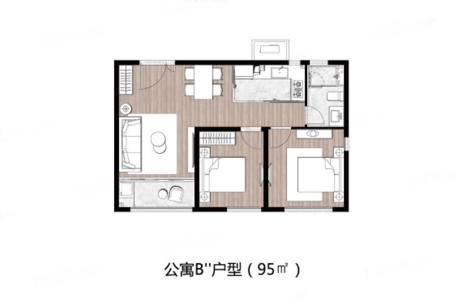 永威.友新路999号  2室2厅1厨1卫