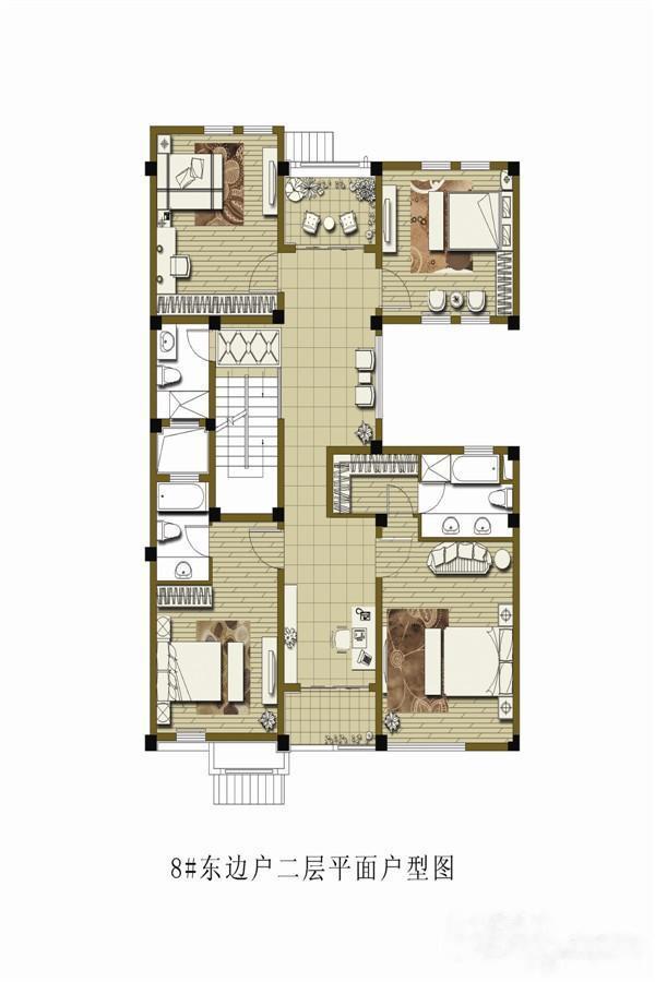 庆园  5室5厅1厨6卫