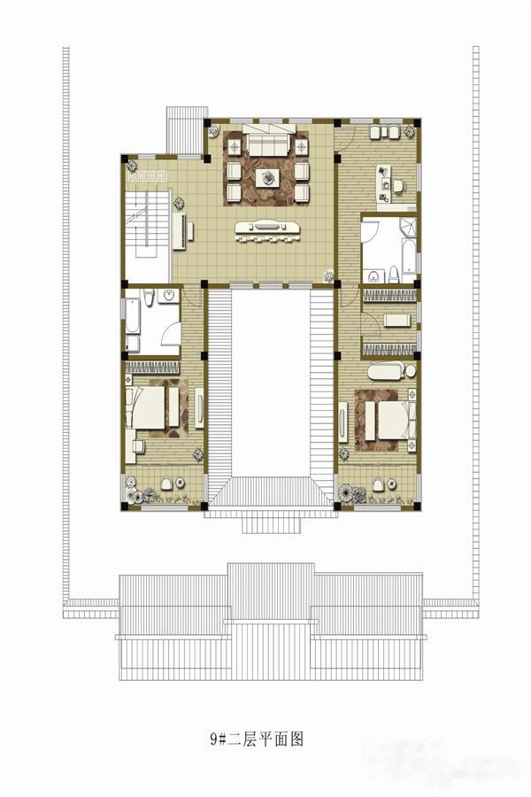 庆园  6室4厅1厨5卫