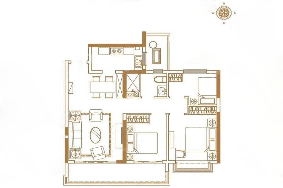 苏州恒大悦珑湾  3室2厅1厨2卫