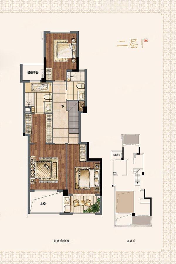 建发泱誉  4室2厅1厨3卫