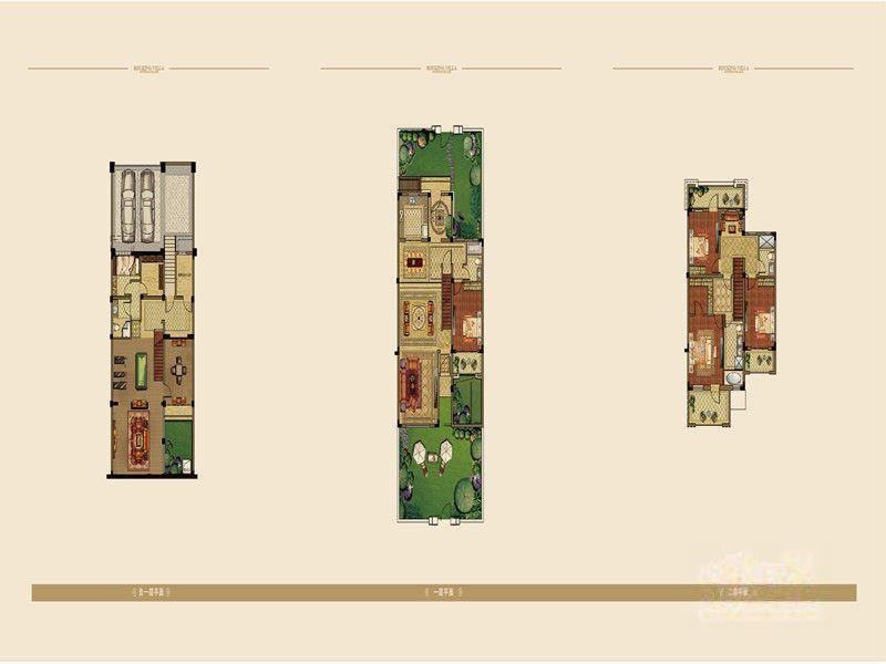 高科荣境  4室4厅1厨4卫