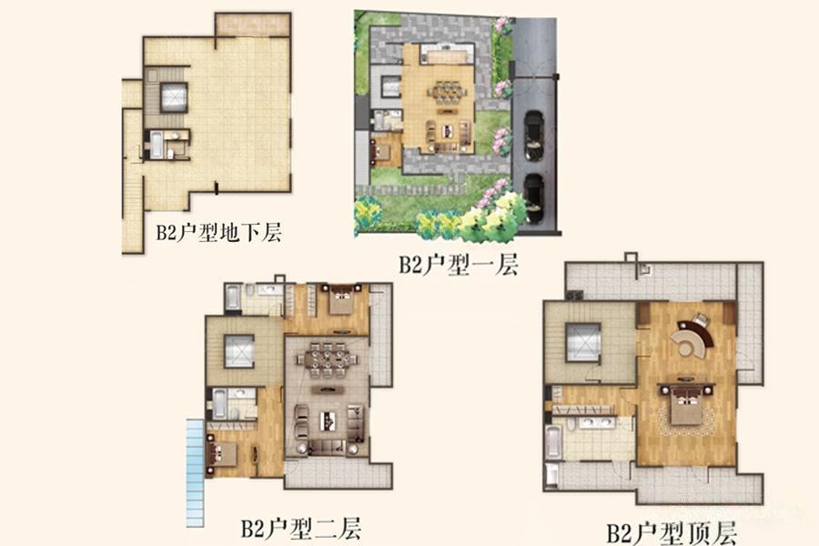 瑞安翠湖山  5室4厅1厨5卫